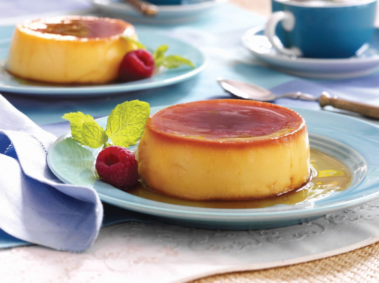 Flan or Custard Pudding